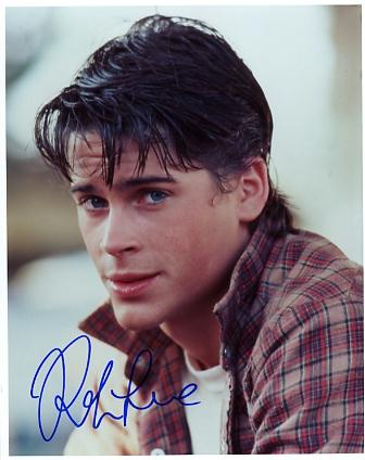 Rob Lowe teenager